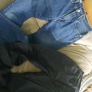 2 pair GAP Jean's Pants